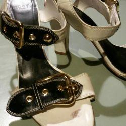 Unusual sandals England.