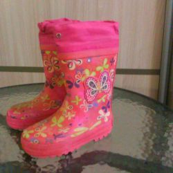 Rubber boots 26