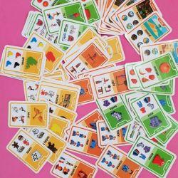 Карточки для обучения английскому языка