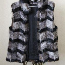 ✂️ Fur vest from nutria