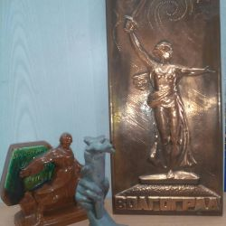 Objects of the USSR with the symbolism