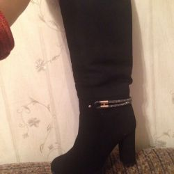 Suede new boots