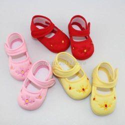 Новые тканевые туфельки для малышки