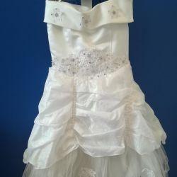 Elegant dress for a princess