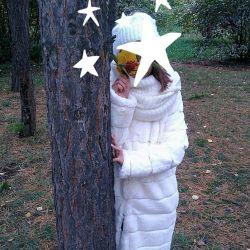Παιδικό γούνινο παλτό