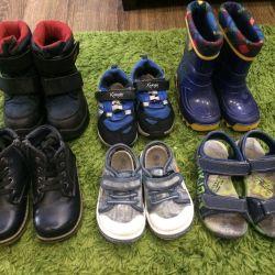 Ayakkabı paketi veya ayrı ayrı, 25-28 boyutu