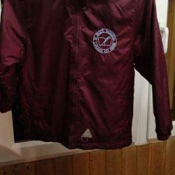 Children's jacket on fleece.
