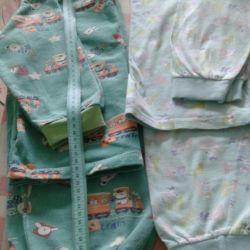 Pajamas summer and bikes