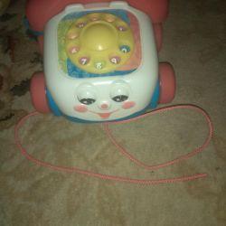 Telephone fisher price