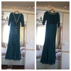 Denizkızı dantel elbise