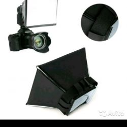 Softbox for on-camera flash