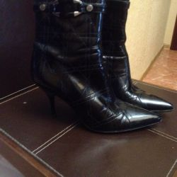 Ankle boots used Tervolin