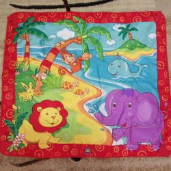 Rug with toys