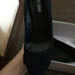 Suede shoes 39 size new