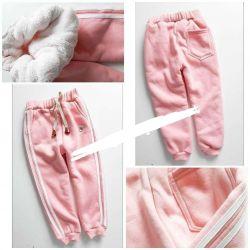 Теплые брюки на девочку