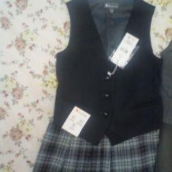 Skirt school, orbi new vest