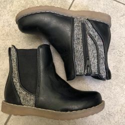 Demi boots kiabi