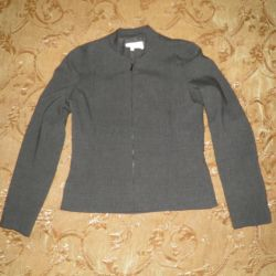 Jacket female gray, 44 rr., French