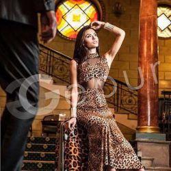 Вечернее платье лео
