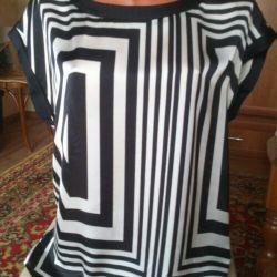 Шeлковая блуза