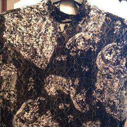 Blouse, new, guipure, р.52-54