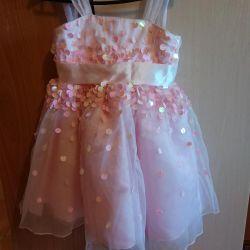 Şık yeni elbise 4-6 yıl