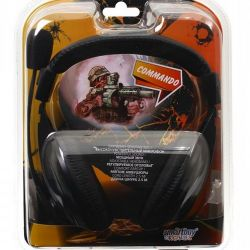 SmartBuy SBH-7000 Ακουστικά COMMANDO με μικρόφωνο