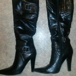 Boots genuine leather 37 size