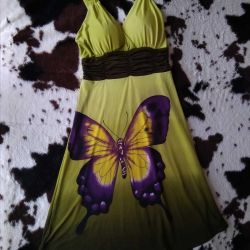 Kelebek 42-44 ile elbise