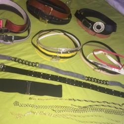 Belts in stock