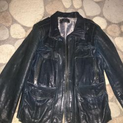 Gucci jacket leather 46 size