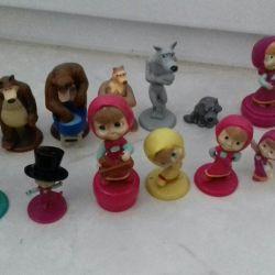 Toys Kinder Masha and the Bear