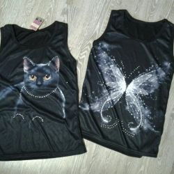 T-shirts with rhinestones new