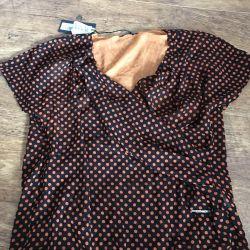 Νέα μπλούζα από μετάξι Roccobarocco
