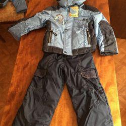 Vânzarea de pantaloni și jachete de salopete de iarna noi