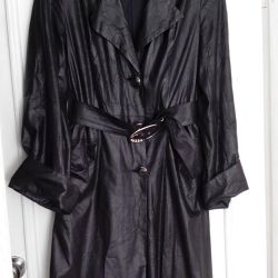 light black trench coat (cloak)