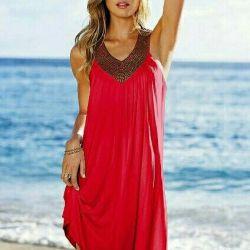 Φόρεμα / γιορτή, καλοκαιρινή παραλία, νέα