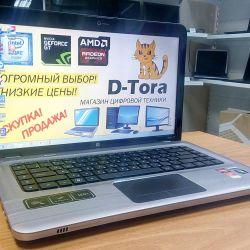 Laptop HP dv6 Ισχυρός AMD με κάρτα βίντεο 2Gb