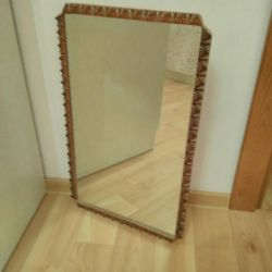 Mirror in the frame.