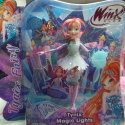 Winx doll Tayniks bloom flora winx new