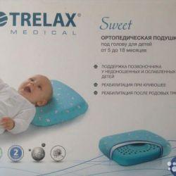Ortopedik yastık + yeni yastık kılıfı