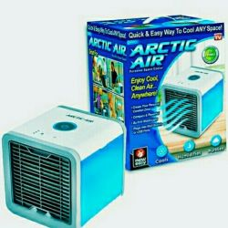 Mini air conditioner humidifier