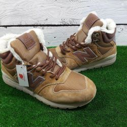 Boots New Balance 696 Brown winter