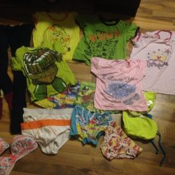 Clothing from 4 years old