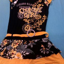 Платье короткое. Турция. 42-48 размер