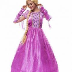 Το γυναικείο κοστούμι Rapunzel, μισθωμένο