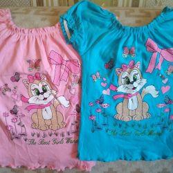 T-shirt για κορίτσι (νέο) μέγεθος-116
