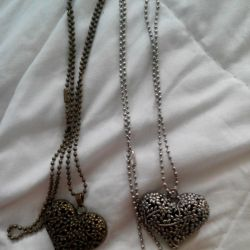 Two pendants