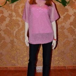 Setați arta tricotată. 4061 (jumper + partea superioară)