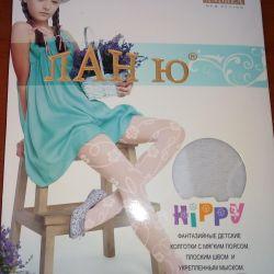 Holiday pantyhose for girl